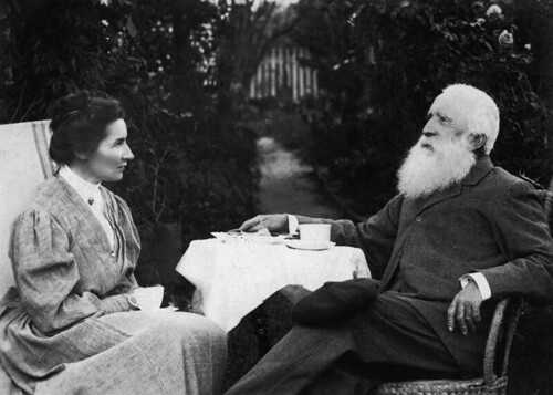 John Henry Nicholson and his wife, Anna Cordes ca. 1890 | by State Library of Queensland, Australia