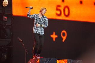 Ed Sheeran at Wembley 3 | by flamesworddragon