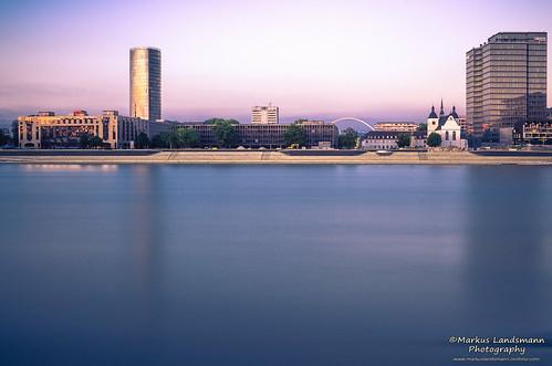 travel panorama water river germany landscape deutschland cityscape fineart cologne köln sight fluss longtimeexposure ndfilter graufilter stadtfotografie