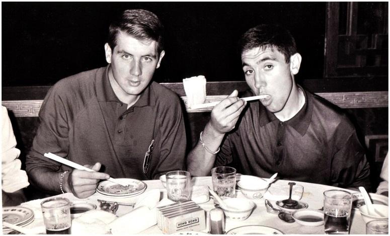 1964 Dinner in Tokyo