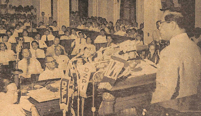 President Garcia's first SONA