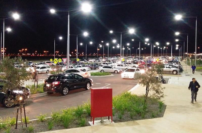 Tarneit station car park