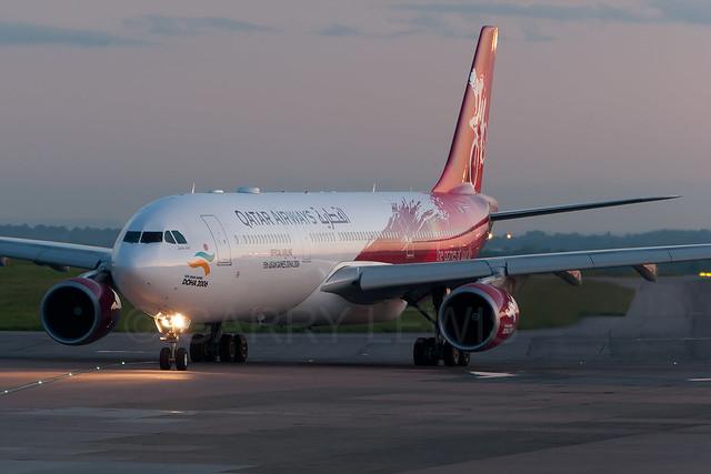 Qatar Airways Airbus A330-300 A7-AEG [MAN]
