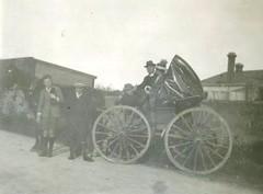 M. Llewelyn W. Bevan at Paternosters smithy Sandy Creek c1924