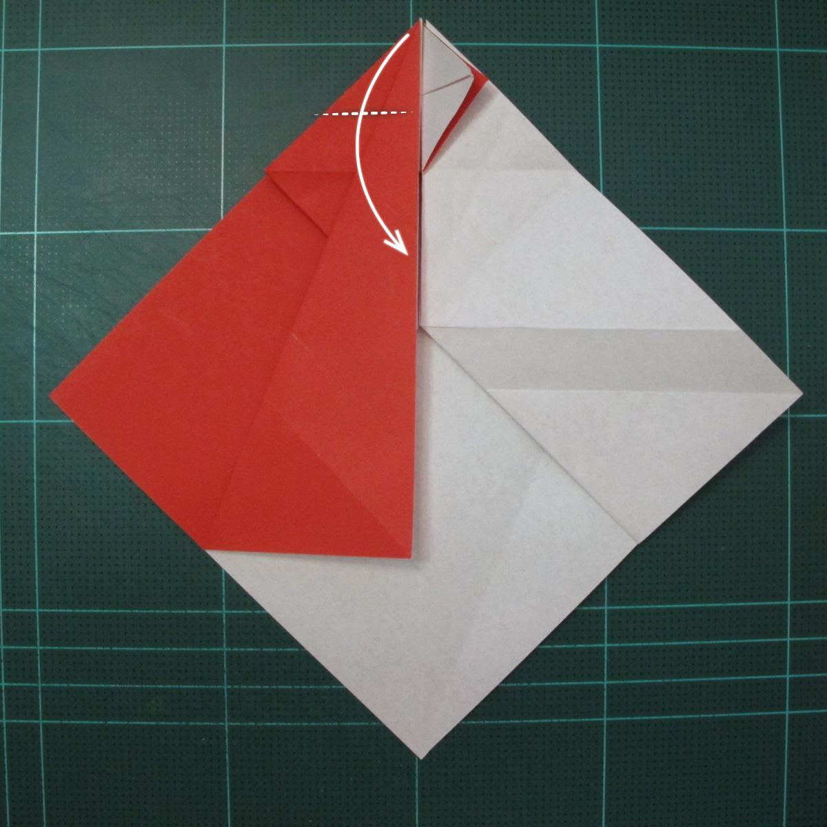 การพับกระดาษเป็นรูปสัตว์ประหลาดก็อตซิล่า (Origami Gozzila) 021