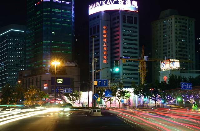 Shanghai - Xujiahui Traffic Flow