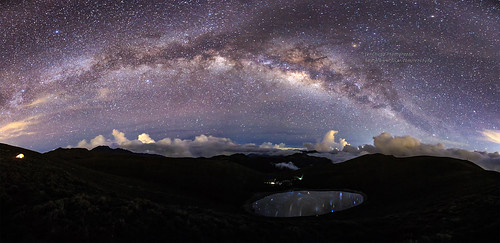 星空下的淚滴 Galaxy, Chia-Ming Lake, Taiwan _IMG_0441_0448