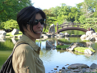 Rox en el jardín Japonés en Chicago   by TiempoDeAventuras.com