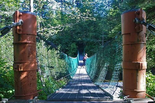 Trail at Sombrio Beach, Juan de Fuca Provincial Park, Port Renfrew, British Columbia, Canada