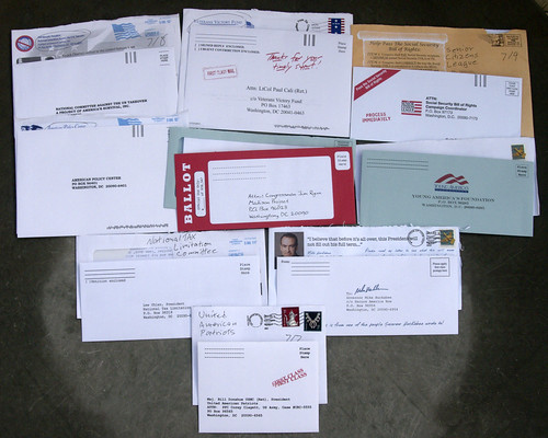 Other political junk mail | by Judith E. Bell