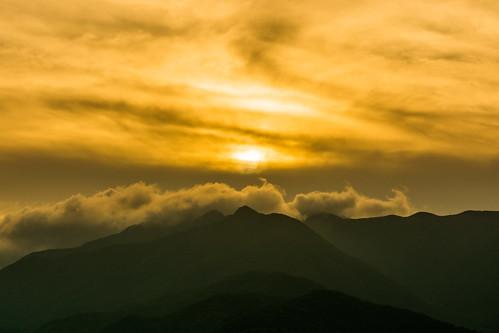 sunset sky cloud mountain japan yamanashi kawaguchiko lakekawaguchi fujikawaguchiko d7100 sigma1750mmf28