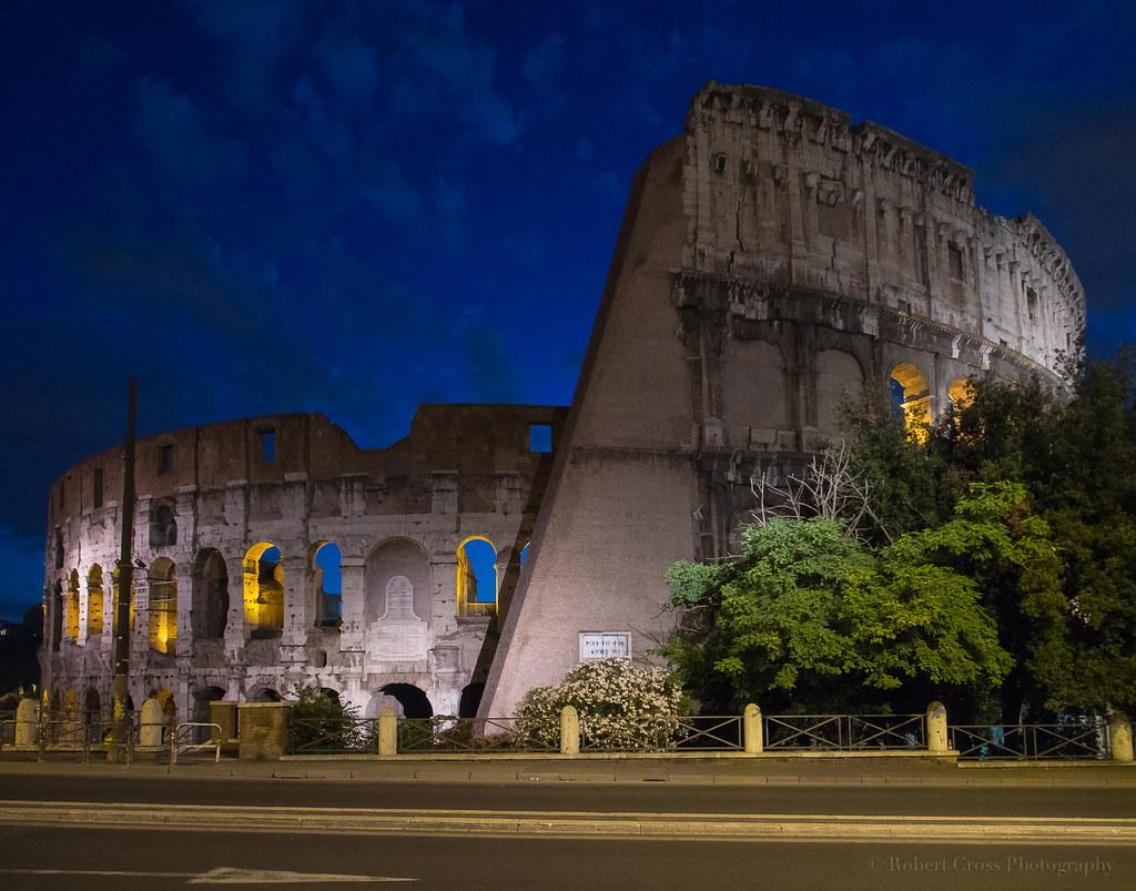 Colosseum Blue
