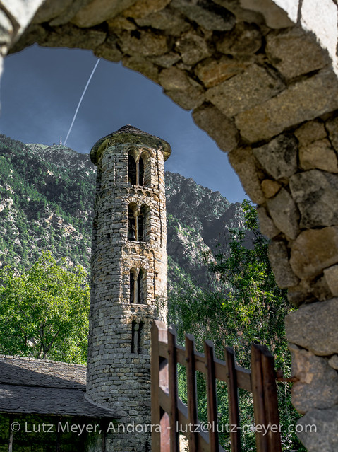 Andorra rural: Santa Coloma, Andorra city