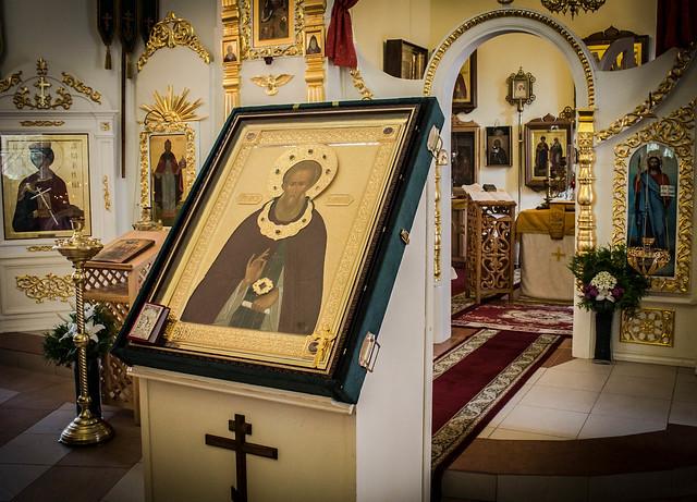10 августа 2014, Принесение иконы прп.Сергия Радонежского