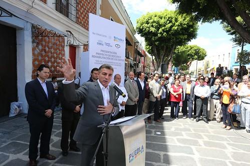 Rescate del Centro Histórico y sus Barrios.