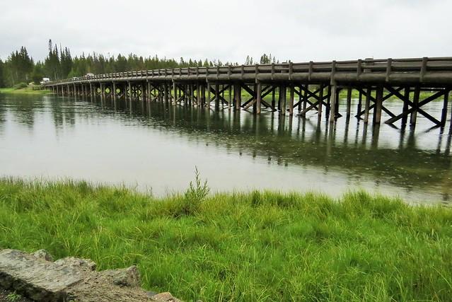 Fishing Bridge in the Rain