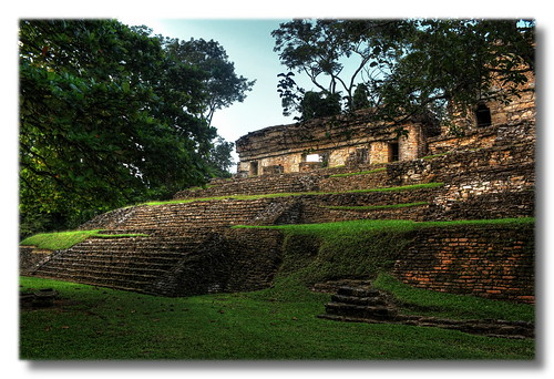 Palenque MEX - The north group 03