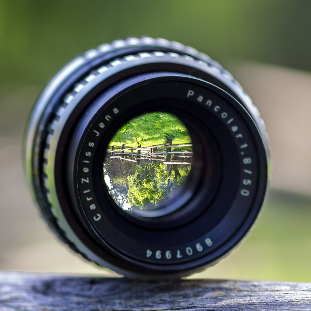 Carl Zeiss Jena Pancolar 50mm ƒ/1.8 zebra