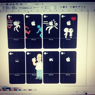 sticker #design #corel #photoshop #portal #thesimpson #ba