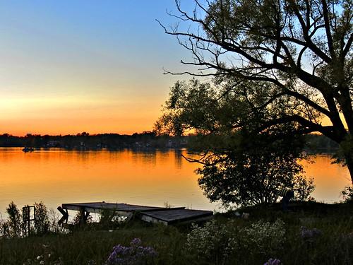 sunset lakewilcoxpark lakewilcox oakridgesmoraine richmondhill ontario canada heartawards