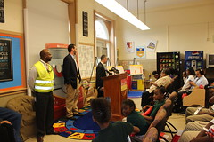 School Safety Kickoff at Browne Education Campus