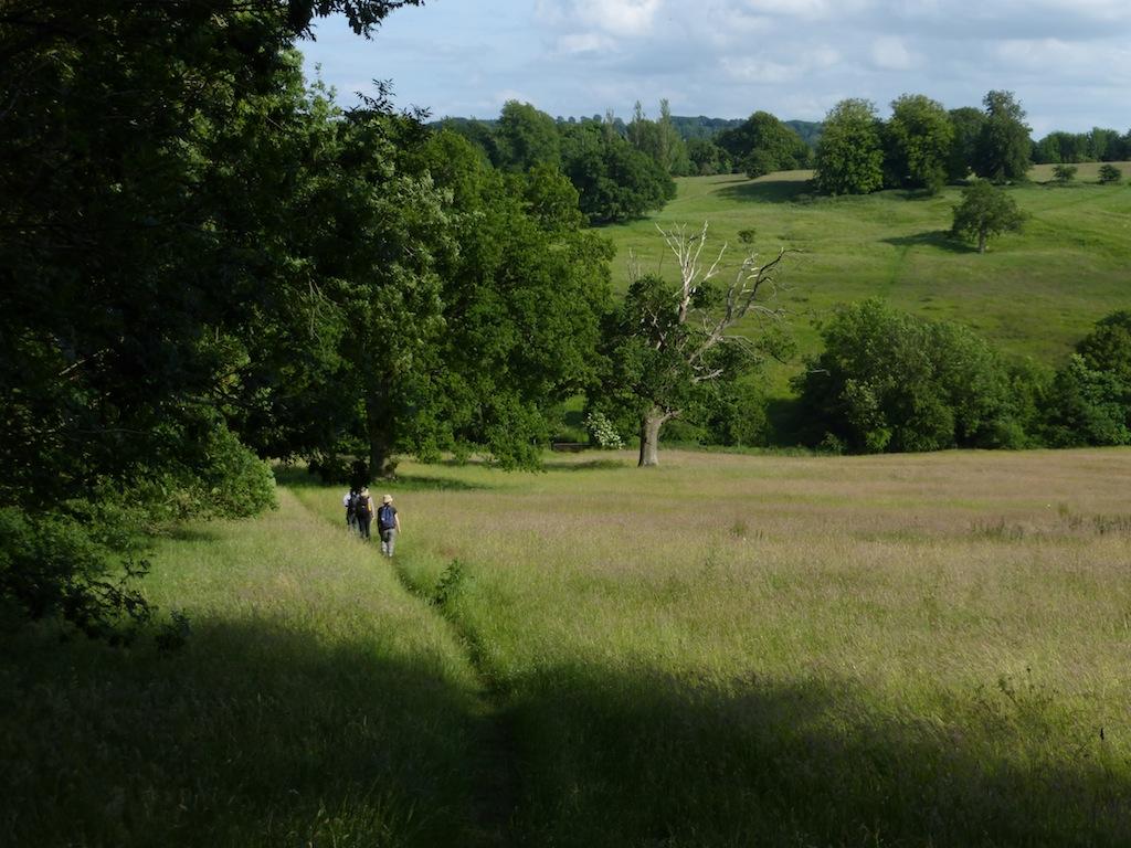 The dip before Blockley Moreton-in-Marsh Circular