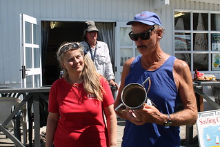 Chantal Grass and Paul Page King of the River | by PLSC (Panmure Lagoon Sailing Club)