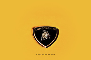 LAMBORGHINI - YELLOW - شعار لامبورغيني