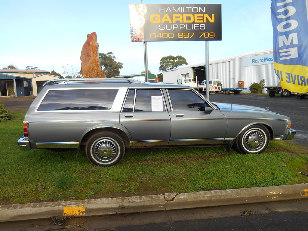 1989 Chevrolet Caprice Wagon Ex Hearse | Spotted for sale wa