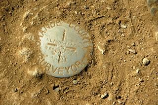 Aliso Peak:  Bench Mark