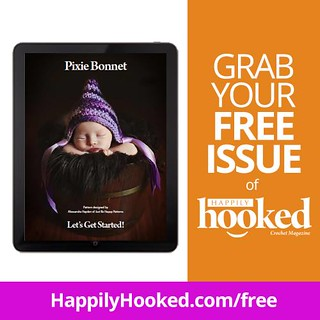 Happily Hooked Magazine | by Just Be Happy Crochet