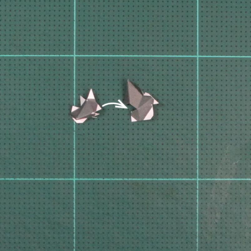 วิธีทำของเล่นโมเดลกระดาษซุปเปอร์แมน (Chibi Superman  Papercraft Model) 004