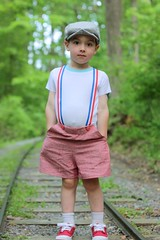 Vintage may overalls