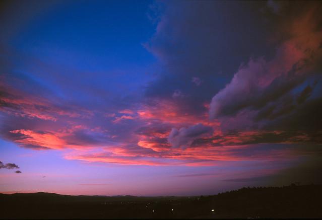 Boulder Valley Sunset