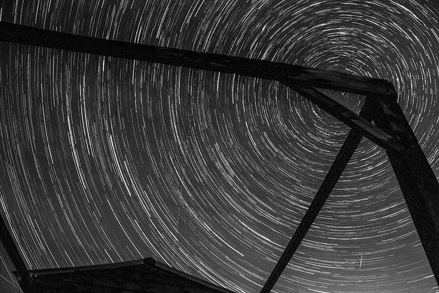 1 hour star trails 03/08/14