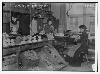 Making dolls, Germany (LOC) | by The Library of Congress