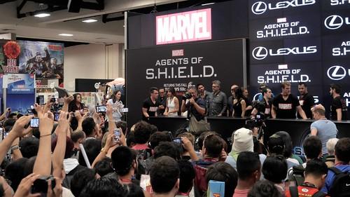 Comic Con 2014: Agents of SHIELD Cast (1) | by smaedli