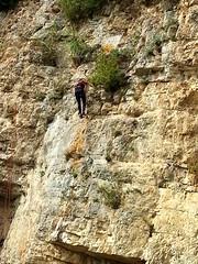 Site d'escalade en Vercors