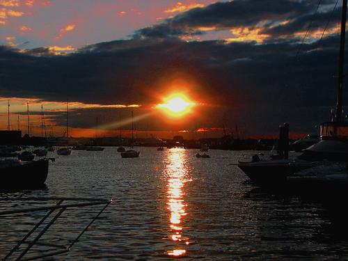 professorbop drjazz canonpowershots3is newportrhodeisland summer sunset beach harbor bumpinonsunset mosca
