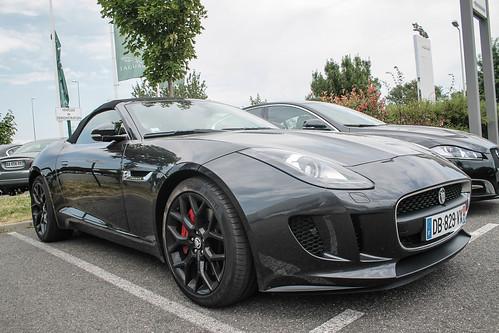 Jaguar F-Type   Jaguar F-Type chez le concessionnaire ...