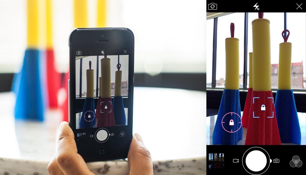 Locking exposure metering & focus
