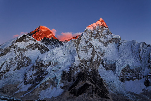 nepal sunset snow sunny everest pwwinter