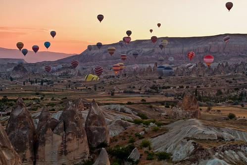 sunrise canon turkey balloons eos 7d cappadocia goreme canon7d