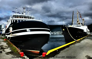 Tromsø Havn new and historic   by albatrail