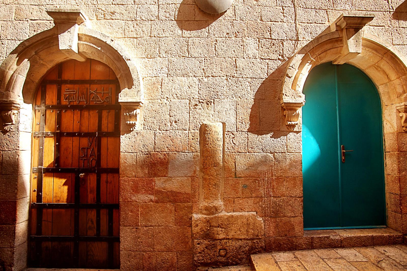 Jerusalem_Via Dolorosa_Station 6 (1)_Noam Chen_IMOT