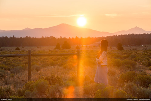 sunset oregon sisters landscape three wilderness threesisterswilderness 加州 优胜美地 国家公园 俄勒冈 国王峡谷 加利佛尼亚