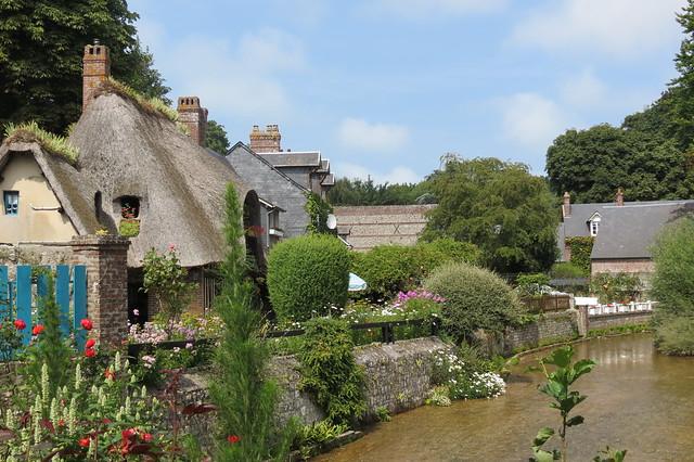 Veules- les-Roses en Normandie