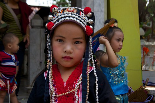 Hill Tribe Girl in Chiang Mai, Thailand | by kimtetsu