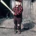 1950s Kid With Baseball Bat, Japan