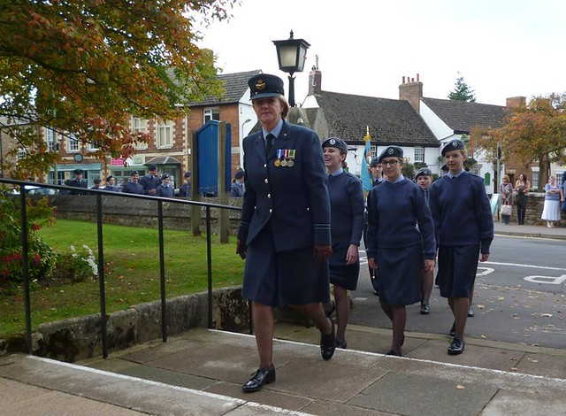 Freedom of Entry granted by Oakham Town Council to 504 Squadron Royal Auxiliary Air Force, RAF Wittering